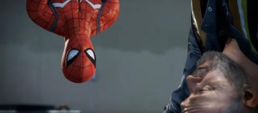 """Marvel's """"Spider-Man"""" will feature alternate suit options for the web-shooting hero (via YouTube/Marvel Entertainment)"""