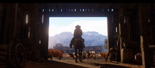 "Rumor has it that Rockstar is pursuing cross-network play for ""Red Dead Redemption 2"" (via YouTube/Rockstar Games)"