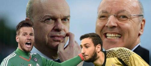 Scambio tra Juventus e Milan, inversione di portieri?