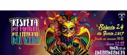Se trata de una de las marchas de Orgullo LGBTTTI más grandes de Latinoamérica.