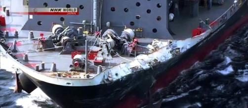 USS Fitzgerald Limps Back To Port (video) – Seven U.S. Sailors ... - theconservativetreehouse.com