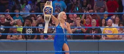 Will Lana leave 'Money in the Bank' as the new WWE 'SmackDown' Women's Champion? [Image via WWE/YouTube]