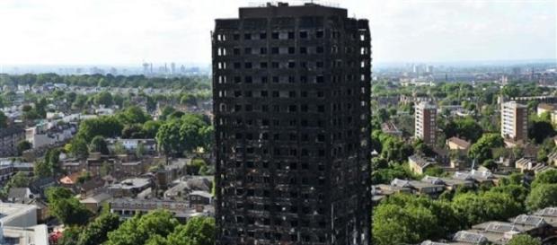 58 people died in disastrous tower fire -Twitter/@PressTV