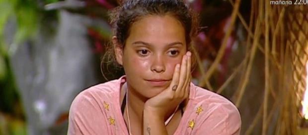 Gloria Camila no adelgaza en Supervivientes.
