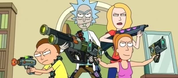 "'Rick and Morty' Season 3 Episode 2: ""Rickmancing the Stone."" (Photo by EmergencyAwesome / YouTube)"