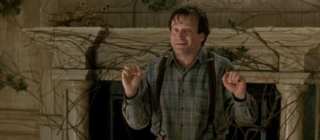 """Photo Robin Williams in """"Jumanji"""" screen capture from YouTube video / movieclips"""