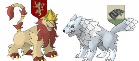 Pokémon criados pelo artista Kaleb Raleigh foram inspirados na série Game of Thrones. Foto: Reprodução/Kaleb Raleigh
