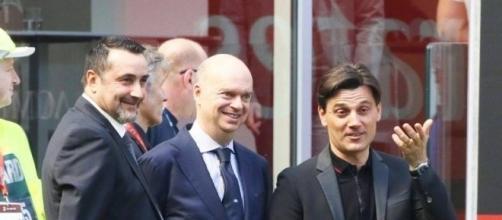 Fassone, Mirabelli e Montella progettano in questi giorni il futuro del Milan