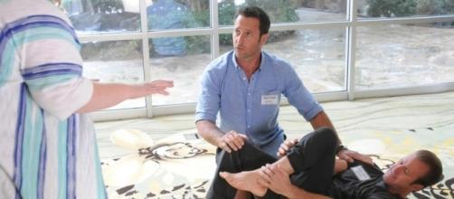 'Hawaii Five-O' star Alex O'Loughlin has fatherhood in common with co-star Scott Caan, and loves Father's Day....Screenshot