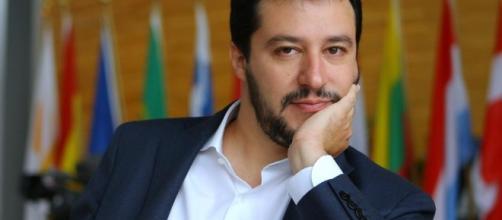 Il leader del Carroccio Matteo Salvini