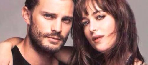 Jamie Dornan and Dakota Johnson are said to be having a secret affair. Photo by Julia R/YouTube Screenshot