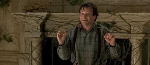 "Photo Robin Williams in ""Jumanji"" screen capture from YouTube video / movieclips"