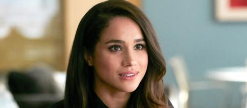 "Screen shot of Meghan Markle on ""Suits"""