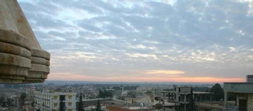 Sunrise at war-torn Raqqa, a city now being liberated by U.S. coalition forces from ISIS - Wikimedia Commons - wikimedia.org