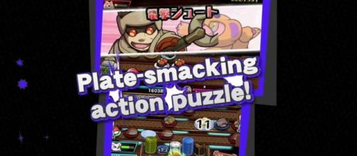 'Sushi Striker': Eat sushi and then smack your enemy with the plates! / from 'My Nintendo News' - mynintendonews.com