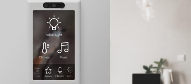 Brilliant's light switch is voice-enabled and can control multiple home devices. (Photo via Brilliant)