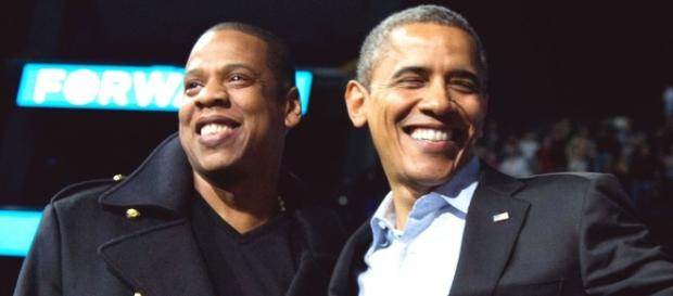 Obama inducts Jay Z into Songwriter's Hall of Fame. - stlamerican