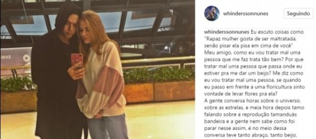 Whindersson Nunes fala sobre seu relacionamento (Reprodução/Instagram)