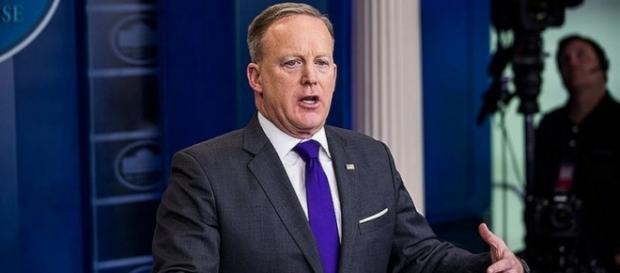 Sean Spicer might no longer serve as the Press Secretary - Flickr/Daykan com