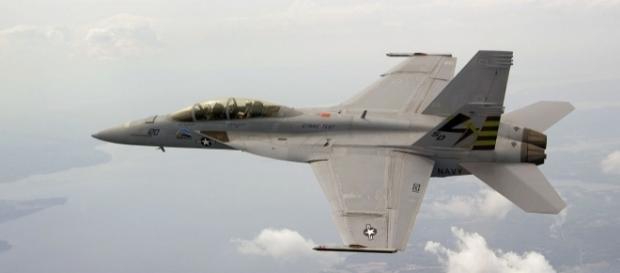 US Navy's F-18 Super Hornet | via Wikipedia Commons
