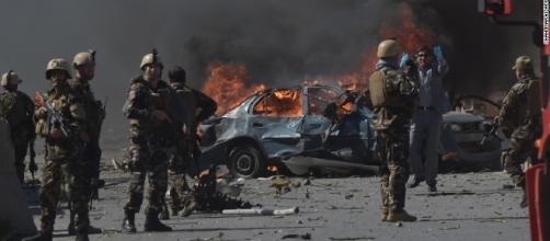 Attentato terroristico a Kabul, 4 morti e diversi feriti