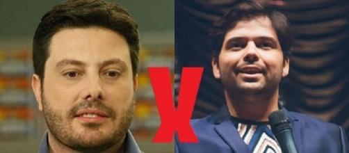 Danilo Gentili é chamado de imbecil por Gustavo Mendes em vídeo gravado pelo humorista notabilizado pelo personagem 'Dilma Rousseff'