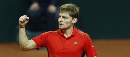 David Goffin of Belgium (Image credit: tennisplaza.be)