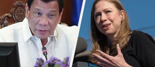 Duterte slams Chelsea Clinton over rape joke criticism | ABS-CBN News - abs-cbn.com