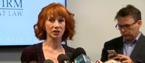 Kathy Griffin press conference, via Twitter