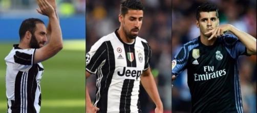 Khedira e Morata, insieme a Higuaín e Zidane domani sera avranno i riflettori di tutto il mondo su di loro.