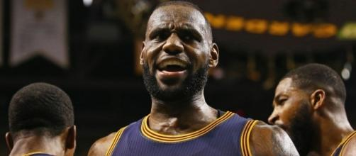 LeBron James of the Cleveland Cavaliers (Image credit: theundefeated.com)