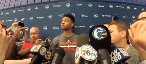 Markelle Fultz On 76ers Acquiring No.1 Pick/ AllThingsSports via Youtube