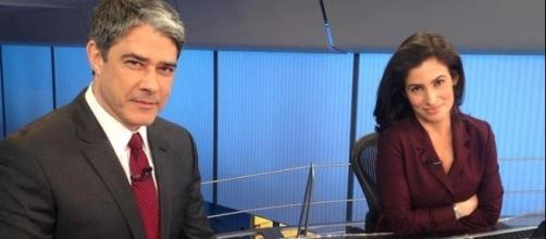 Os dois jornalistas trabalham há muito tempo juntos