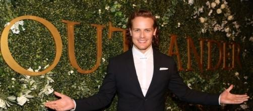 "Sam Heughan is in tlaks for ""The Spy who Dumped Me"" movie. Photo - outlandishdram.com"