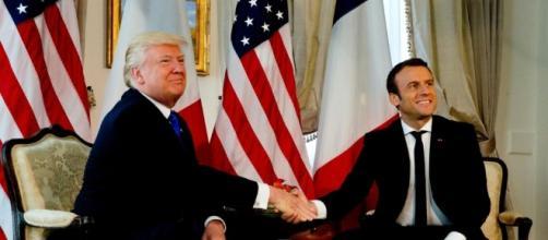 You tiny little man': watch Trump's bizarre body-language battles ... - scmp.com