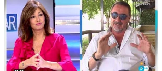 Ana Rosa Quintana y Carlos Herrera