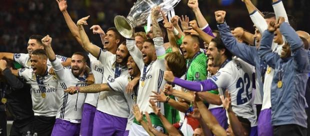 El Real Madrid es el primer equipo que obtiene 2 Champions seguidas. dailymail.co.uk