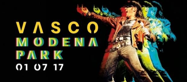 Il logo ufficiale del concerto di Modena