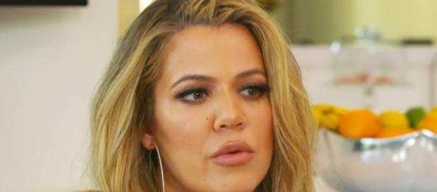Khloe Kardashian screen grab from KUWTK