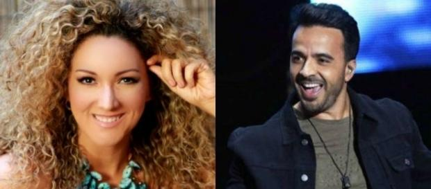 Luis Fonsi e Erika Ender, que é coautora do hit 'Despacito'