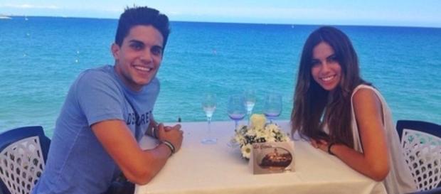 Marc Bartra y Melissa Jiménez anuncian su boda tras dos años y ... - bekia.es