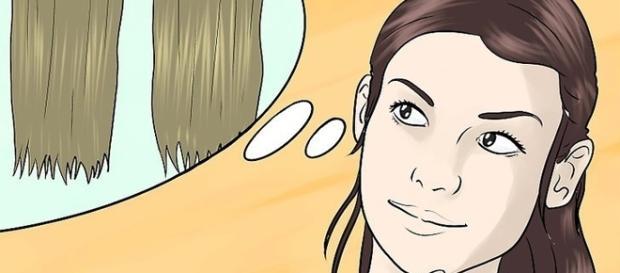 O cabelo é o principal atributo de uma mulher ( Foto - WikiHow)