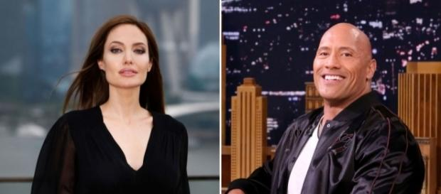 wants Angelina Jolie and Dwayne Johnson for its Dark Universe - digitalspy.com