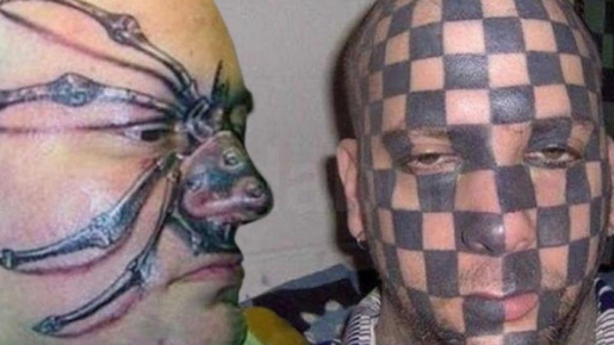 Confira As 10 Tatuagens Mais Bizarras Que Você Verá Em Sua Vida