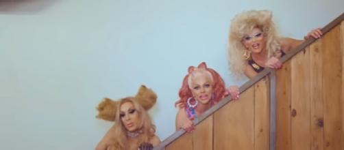 AAA - The AAA Girls feat / Image credit: Courtney Act | Youtube