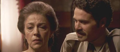 Cristobal e donna Francisca Il Segreto