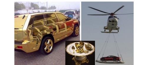 Dubai e suas coisas de gente rica