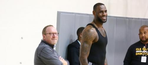 Image via Youtube channel: Today Sports #DavidGriffin #LeBronJames