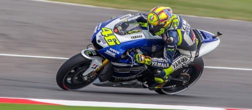 In foto Valentino Rossi - flickr. com