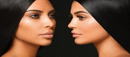 Kim Kardashian and Kylie Jenner are into cosmetics / Photo via Kim Kardashian , Instagram